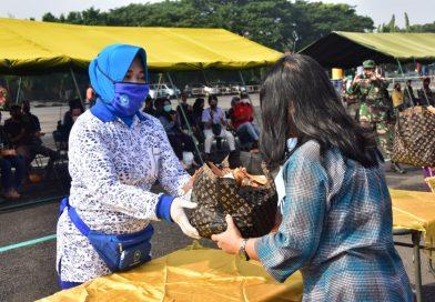 Ketua DJA II Hadiri Kegiatan Peduli Kemanusiaan di Makodam Brawijaya/theeast.co.id