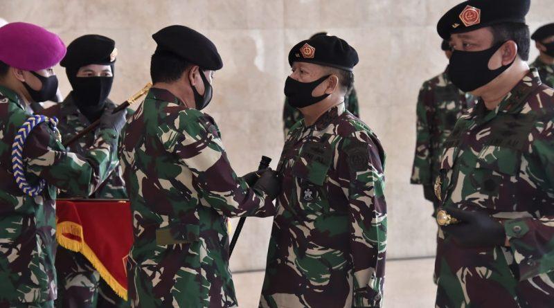 Panglima TNI Pimpin Sertijab Pangkohanudas dan Penyerahan Jabatan Pangkogabwilhan I & II/theeast.co.id