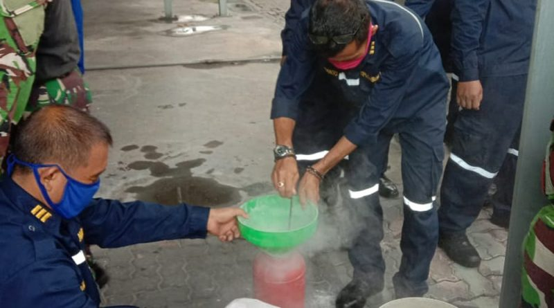 30 Pasis Puspeknubika Ikuti Lattek Pemadaman Api Ringan/theeast.co.id