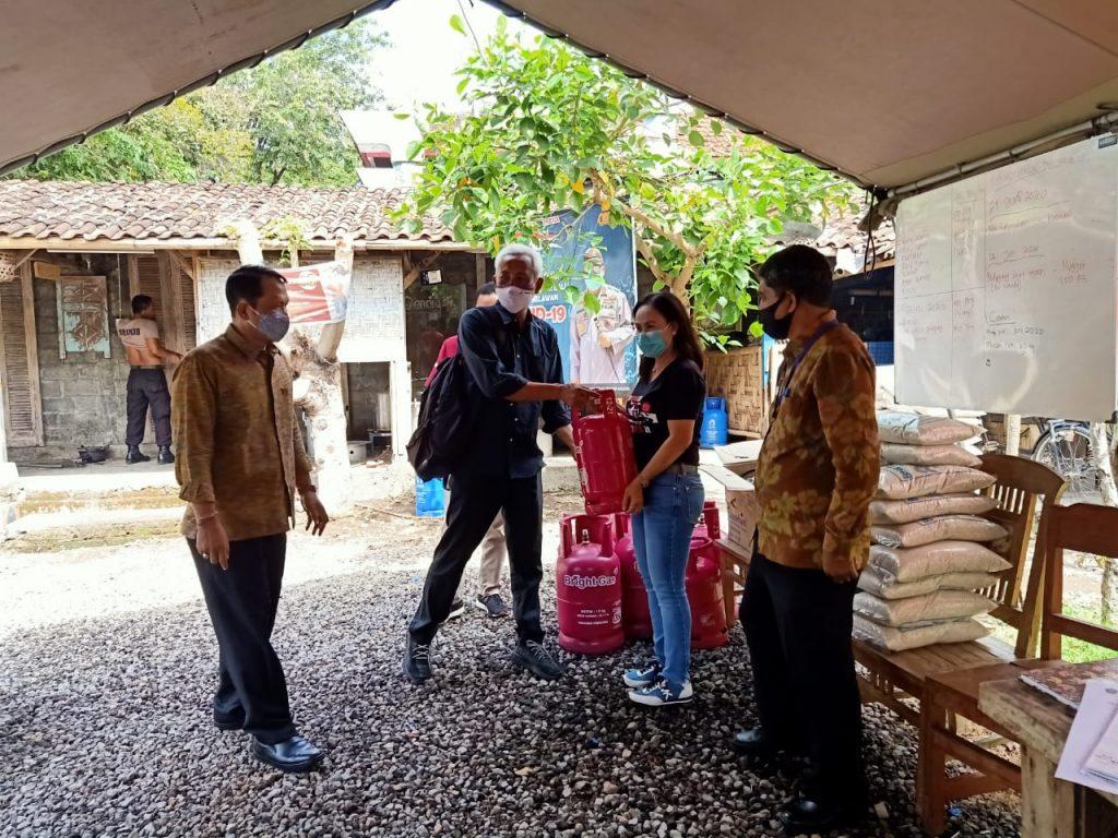 ORI Bali Pantau Pelayanan Dapur Umum untuk Warga Berdampak Covid19/theeast.co.id