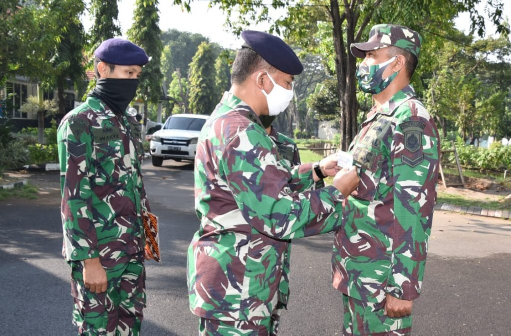 60 Prajurit TNI AL Ikuti Kursus Tenaga Kependidikan di Kodiklatal/theeast.co.id