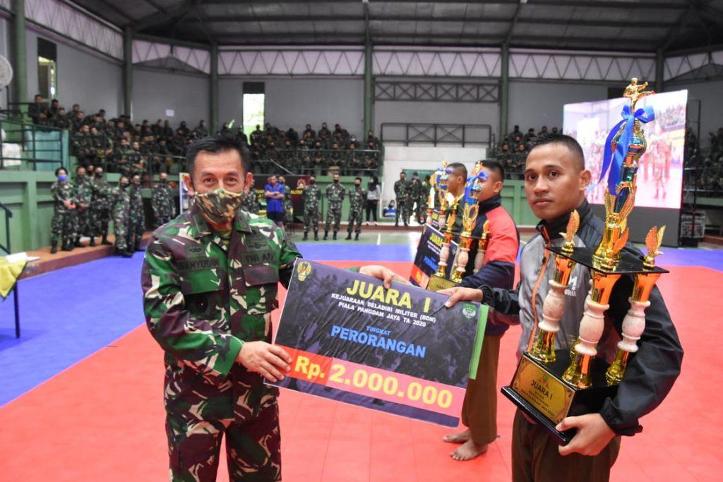 Kodam Jaya Selenggarakan Kejuaraan BDM Piala Pangdam Jaya/Jayakarta TA 2020/theeast.co.id