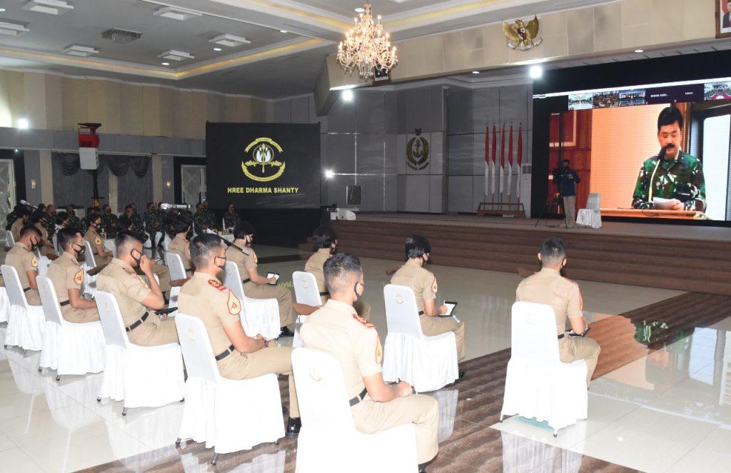 Panglima TNI: Pelaut Ulung Bukan Lahir dari Lautan yang Tenang/theeast.co.id