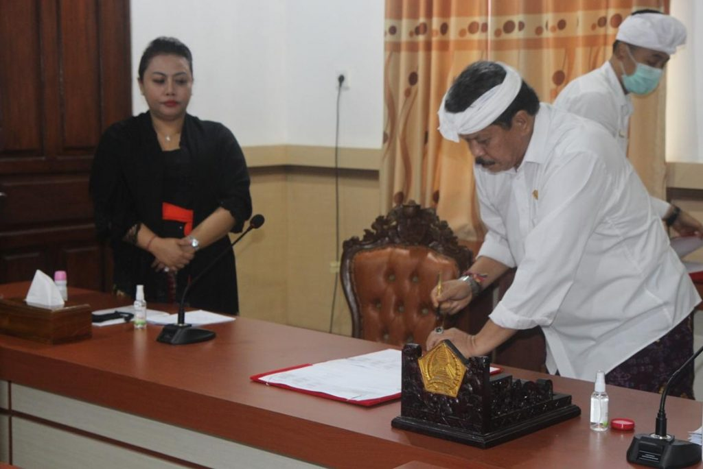 Eksekutif dan Legislatif Pemkab Tabanan Sepakati 2 Ranperda/theeast.co.id