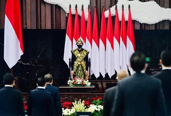 DPD RI Dipuji Presiden, La Nyalla: Terima Kasih Pak Jokowi/theeast.co.id