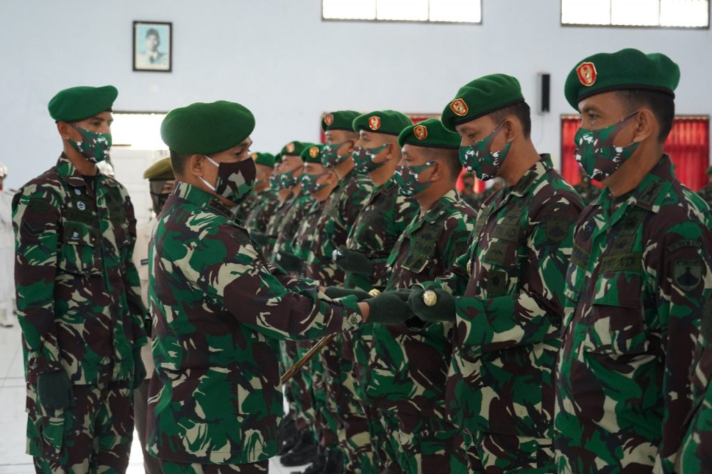 9 Jabatan Strategis di Lingkungan Korem 071/Wijayakusuma Diserahterimakan/theeast.co.id