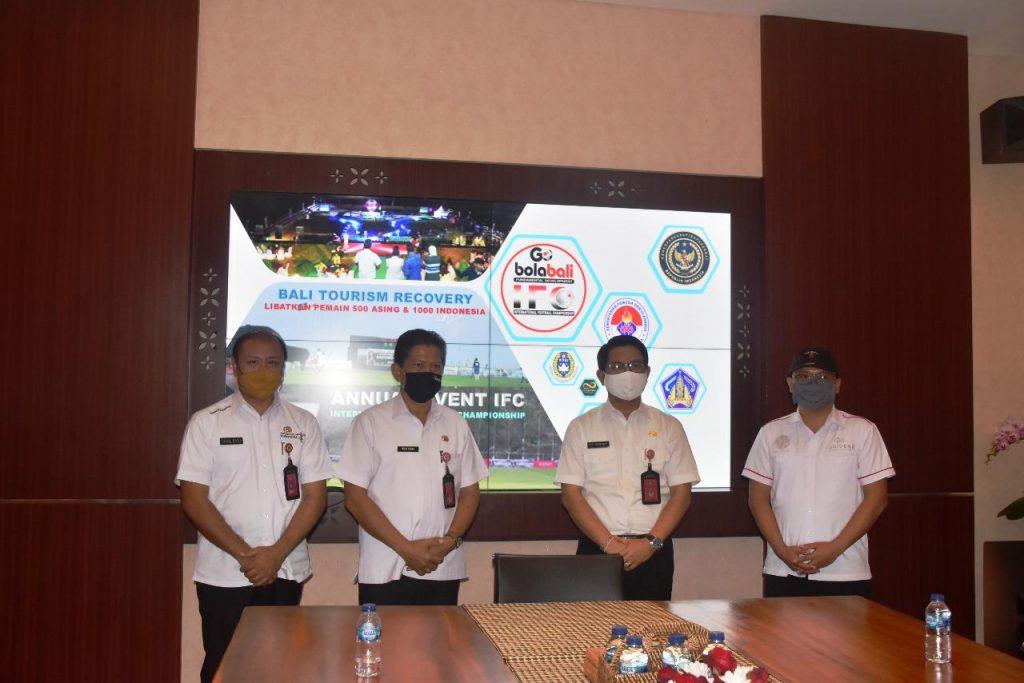 Upaya Pemulihan Pariwisata di Badung, Sekda Adi Arnawa Dukung Penyelenggaraan IFC Tahun 2020/theeast.co.id