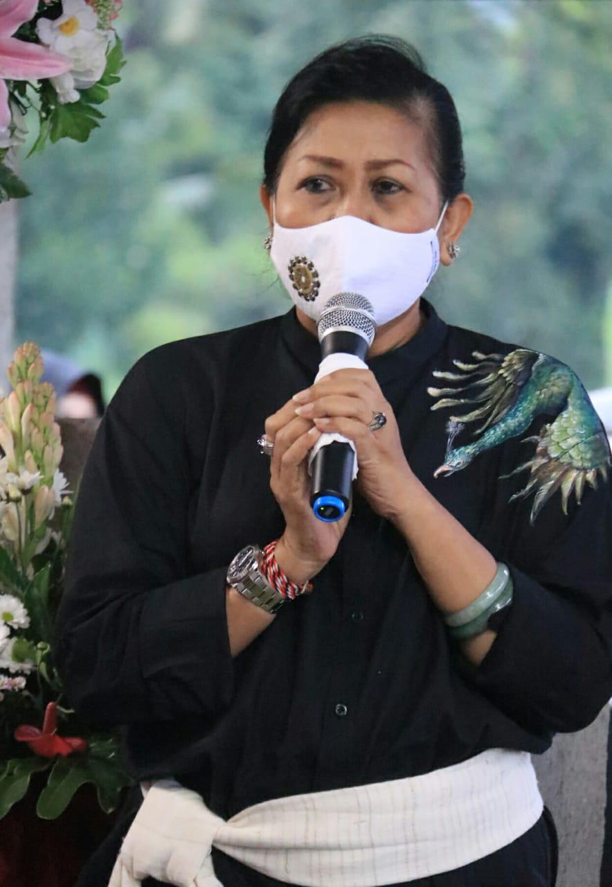 Nyonya Putri Koster: Tabanan Perlu Dinobatkan Jadi Lumbung Padi Bali/theeast.co.id