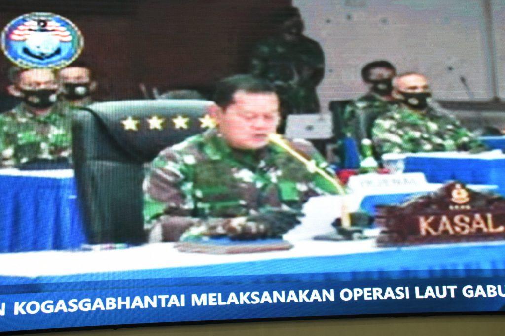 TNI AL Menggelar Latihan Armada Jaya Secara Virtual/theeast.co.id