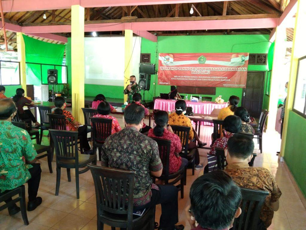 Kodim Jembrana Berikan Wawasan Kebangsaan Bagi Para Guru Agama/theeast.co.id