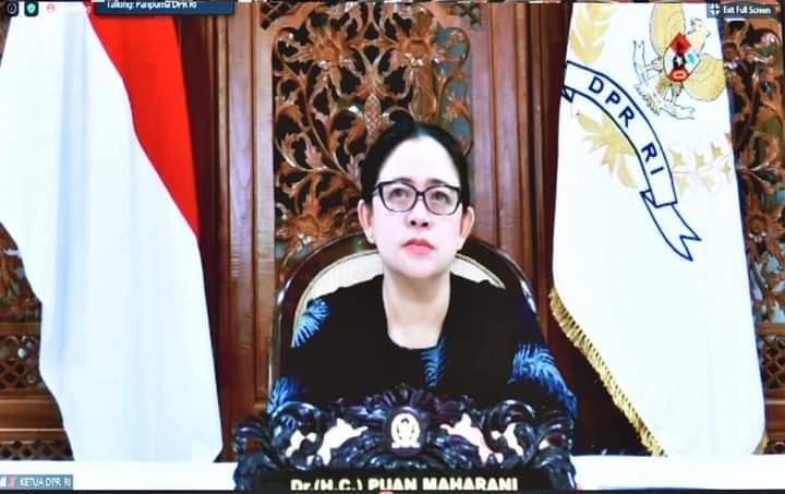 Puan Pastikan DPR Tetap Produktif di Masa Pandemi/theeast.co.id
