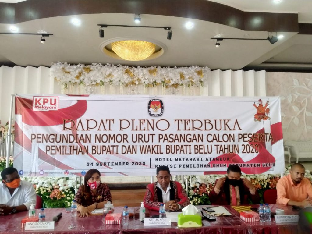 KPU Belu Meminta Maaf dan Penuhi Tuntutan Paket Sahabat/theeast.co.id