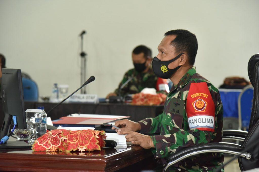 Pangkoarmada II ikuti Upacara Pembukaan Gladi Posko Latihan Armada Jaya XXXVIII secara Virtual/theeast.co.id