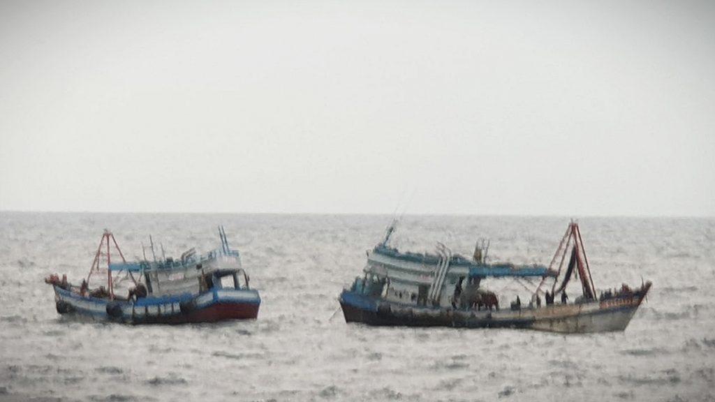 TNI AL Kembali Tangkap Dua Kapal Ikan Berbendera Vietnam/theeast.co.id