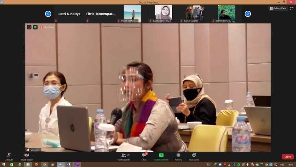 Kemendikbud Wadahi Seniman dan Pelaku Industri Kreatif Berbagi Praktik Baik di Masa Pandemi COVID-19/theeast.co.id