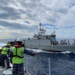 Dua KRI Kelas Fast Patrol Boat Laksanakan Latihan Bersama di Laut Sulawesi